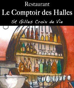 LOGO - Le Comptoir des Halles - St Gilles - HD